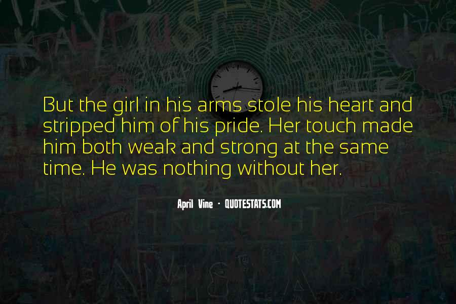 Quotes About Strong Heart #88494