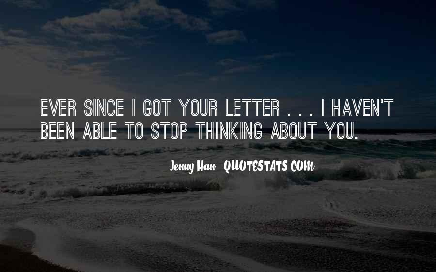Quotes About Non Stop Thinking #14883