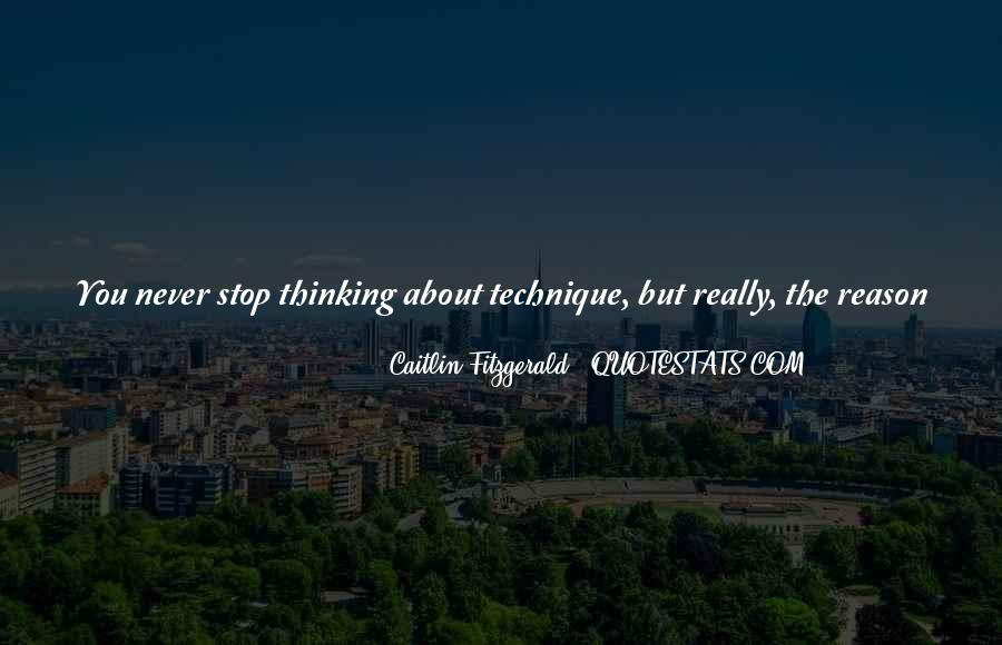 Quotes About Non Stop Thinking #24407