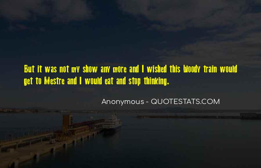 Quotes About Non Stop Thinking #31880