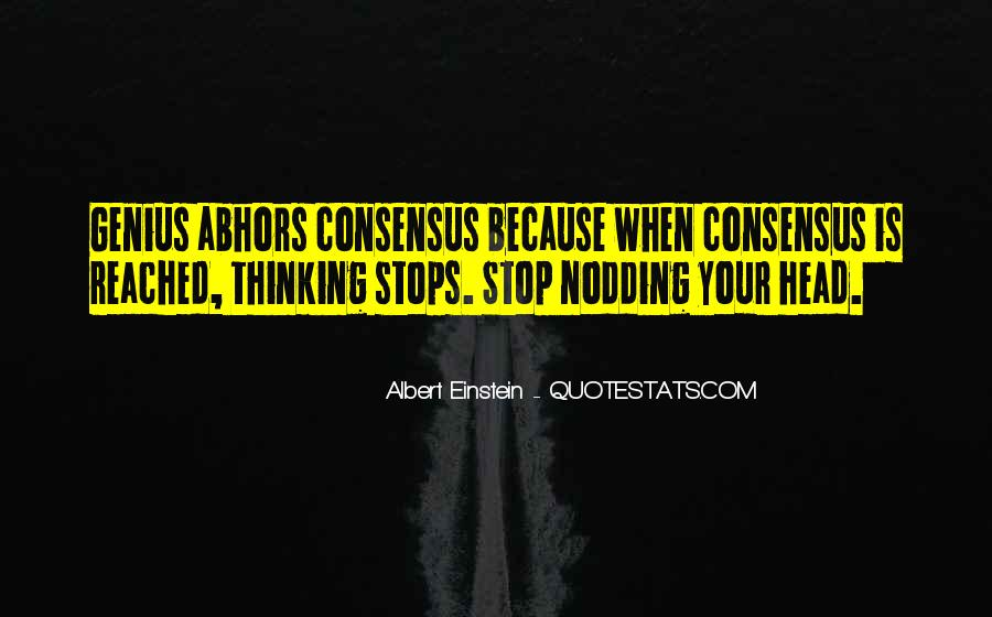 Quotes About Non Stop Thinking #790