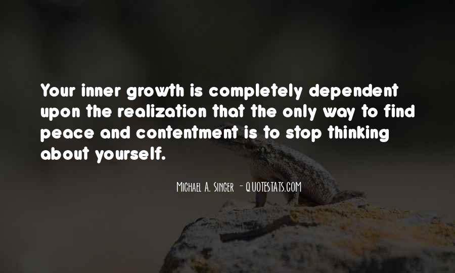 Quotes About Non Stop Thinking #86013