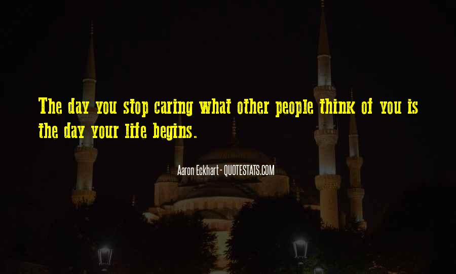 Quotes About Non Stop Thinking #88742