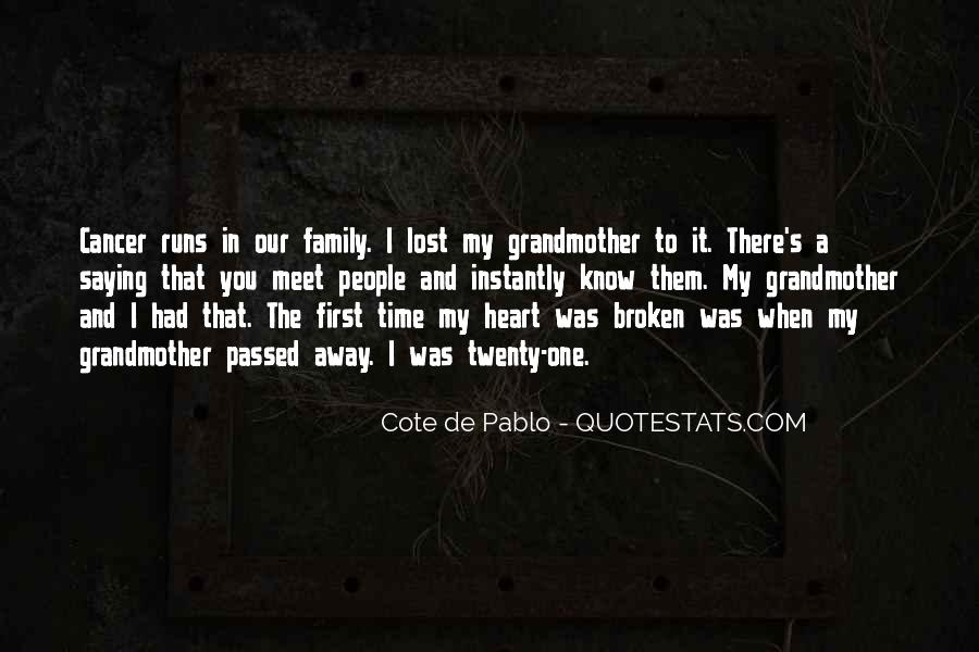 Quotes About Family Far Away #88829