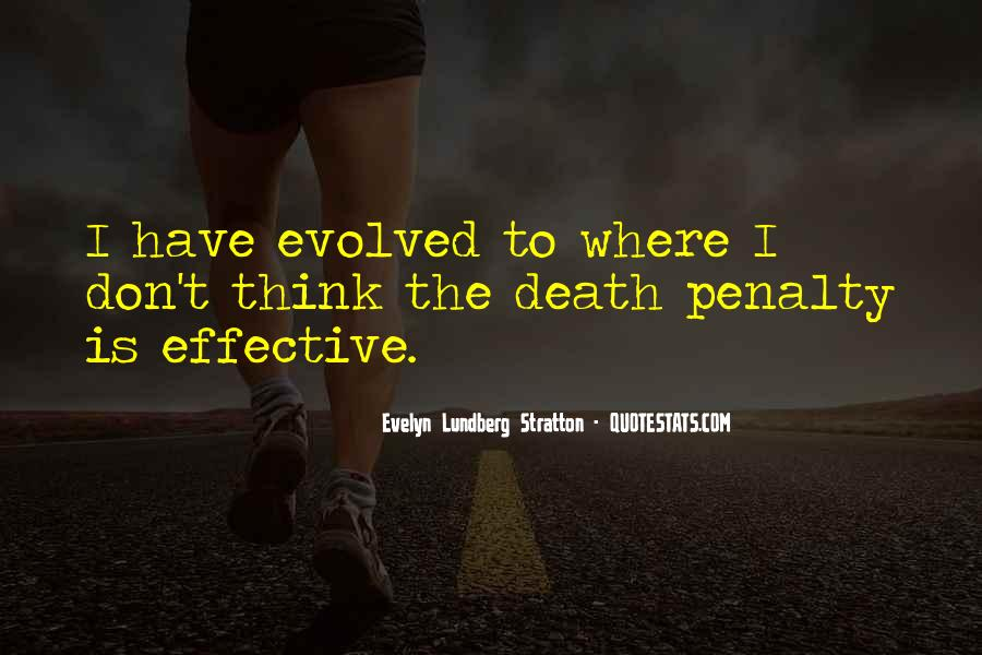Quotes About Death Penalties #1435438