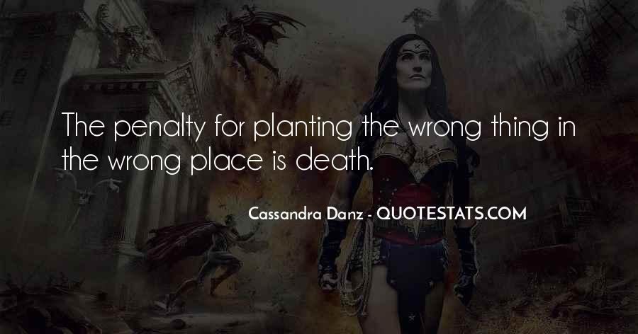 Quotes About Death Penalties #658083