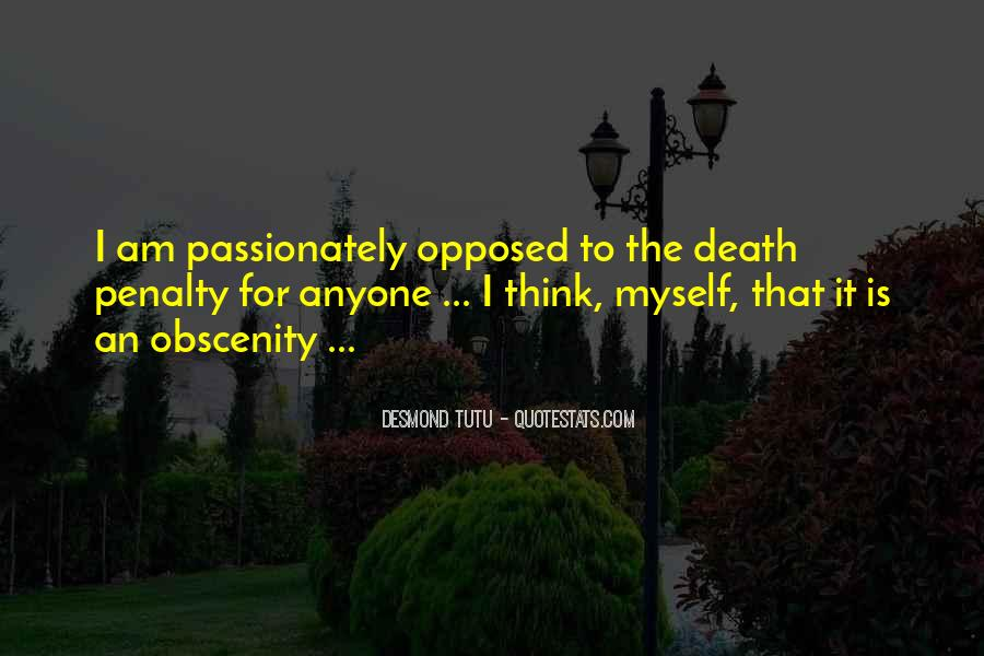 Quotes About Death Penalties #659012