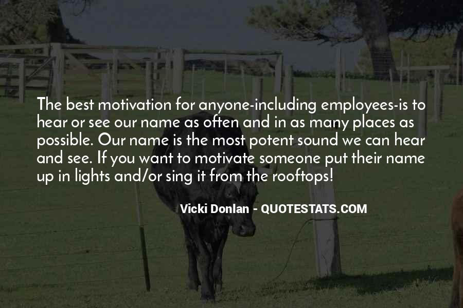 Quotes About Employees Motivation #1274526