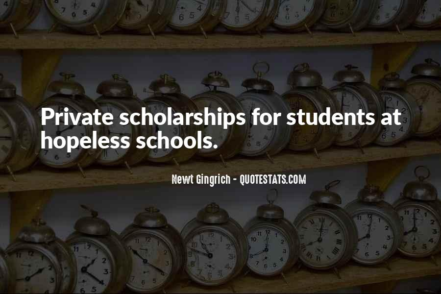 Quotes About Private School Education #1592592