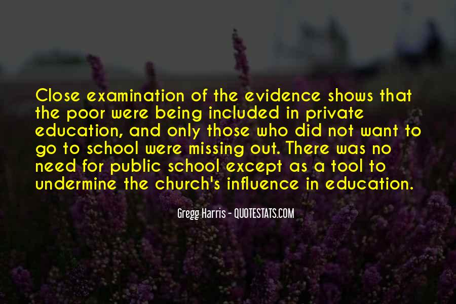 Quotes About Private School Education #254733
