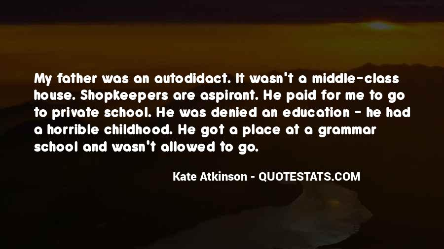 Quotes About Private School Education #723030