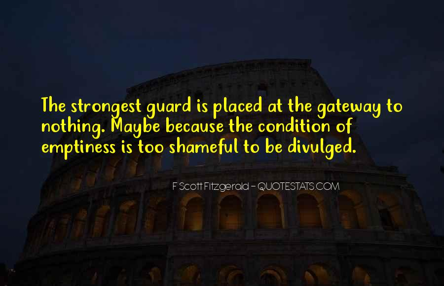 Quotes About Having Guard Up #12868