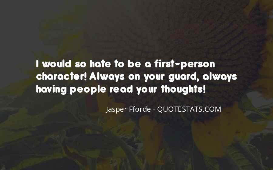 Quotes About Having Guard Up #23857