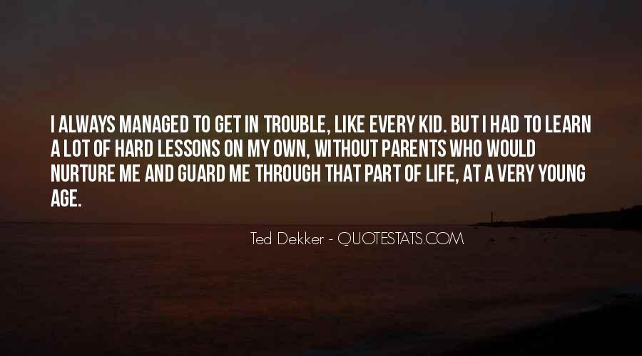 Quotes About Having Guard Up #33755