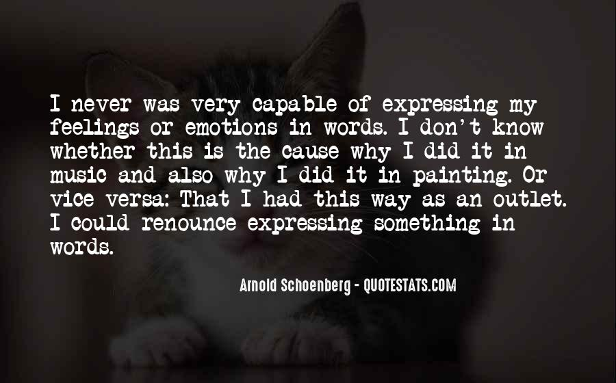 Quotes About Expressing Your Feelings To Someone #645940
