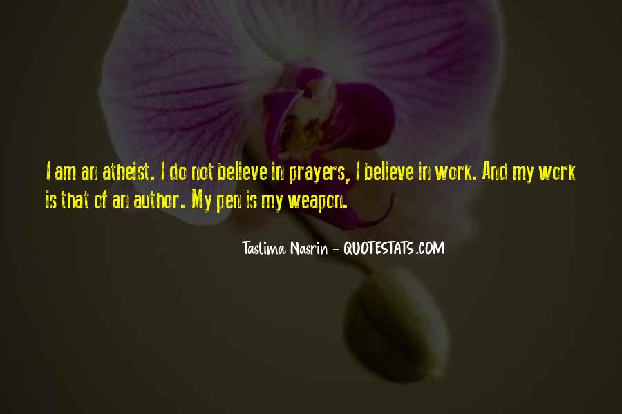Quotes About Prayer Atheist #940631