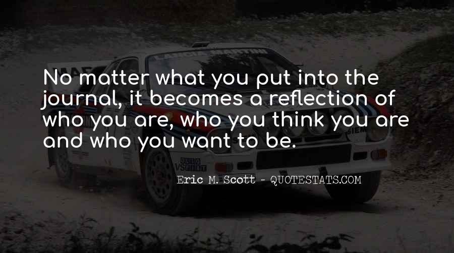 Quotes About What You Want #17686