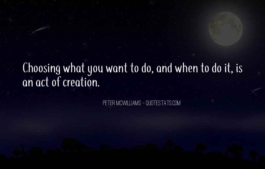 Quotes About What You Want #19220