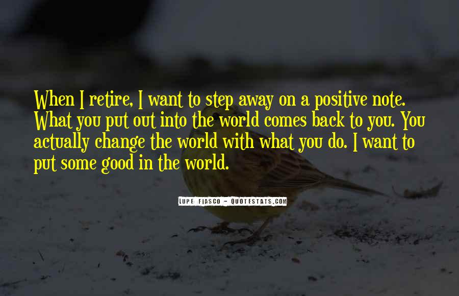 Quotes About What You Want #19441