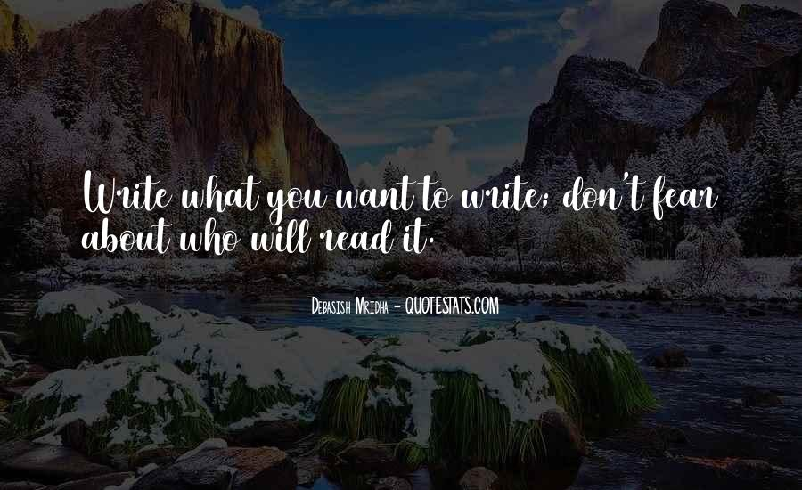 Quotes About What You Want #20704