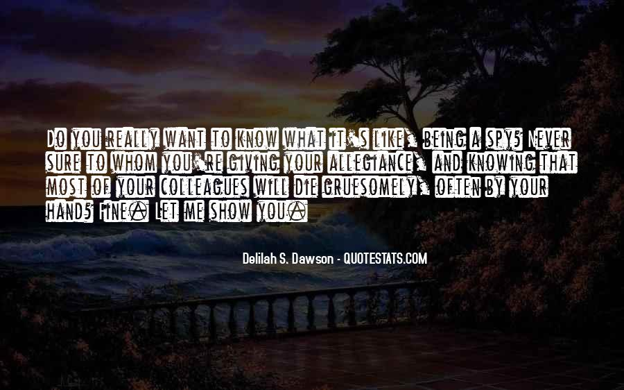 Quotes About What You Want #5084