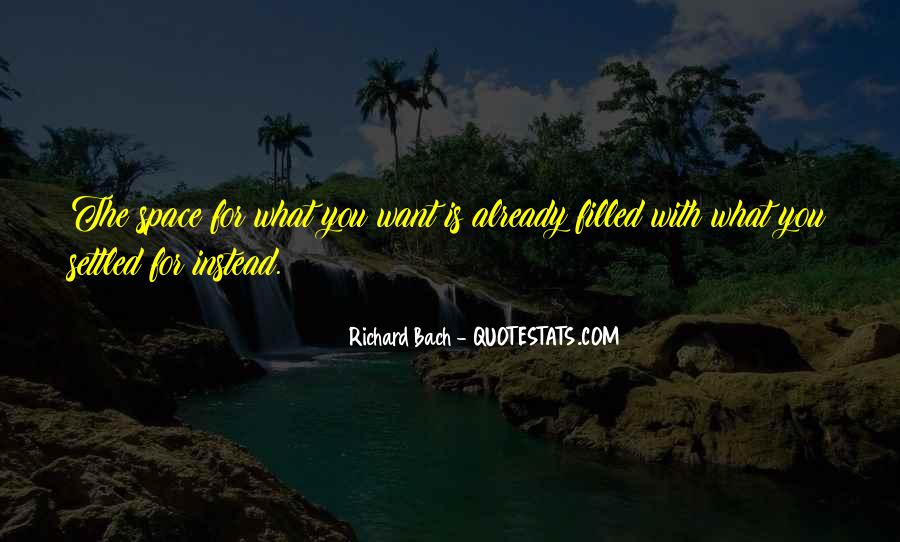 Quotes About What You Want #7803