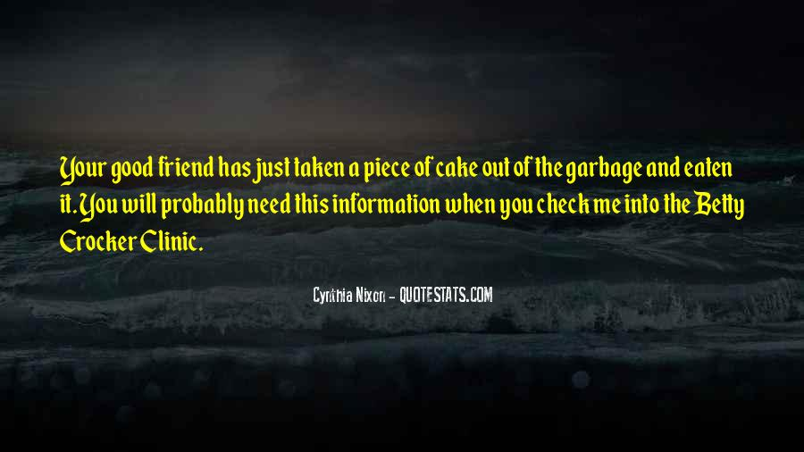 Quotes About Piece Of Cake #1133705