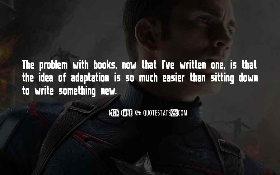 Quotes About Adaptation #102365