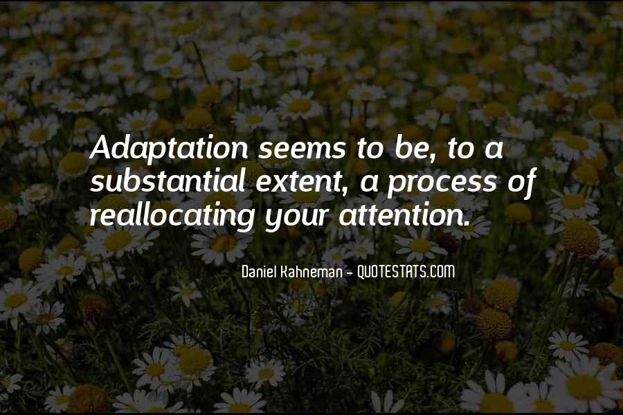 Quotes About Adaptation #102971
