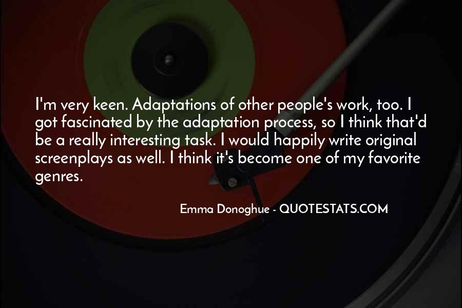 Quotes About Adaptation #130407