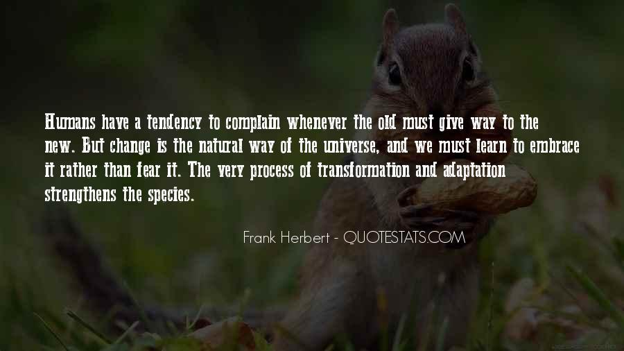 Quotes About Adaptation #154439