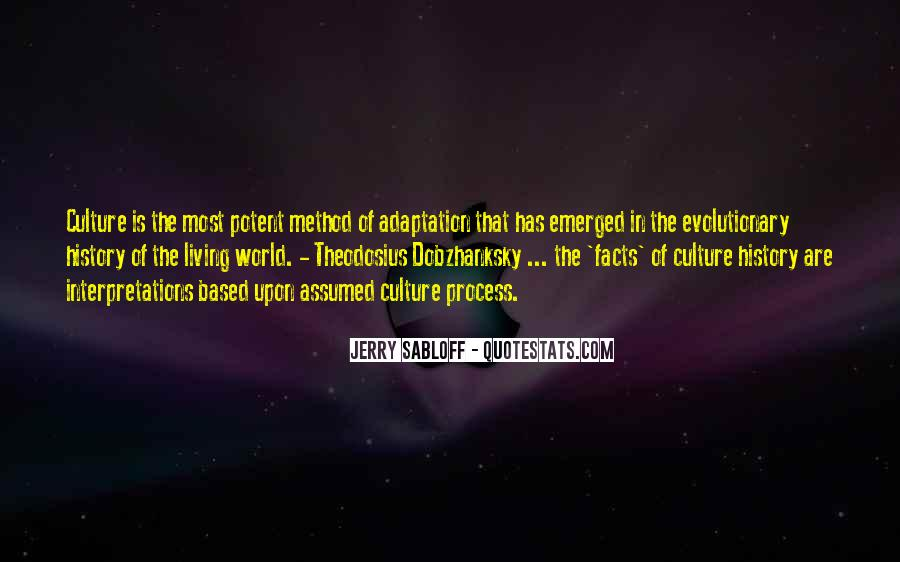 Quotes About Adaptation #183654