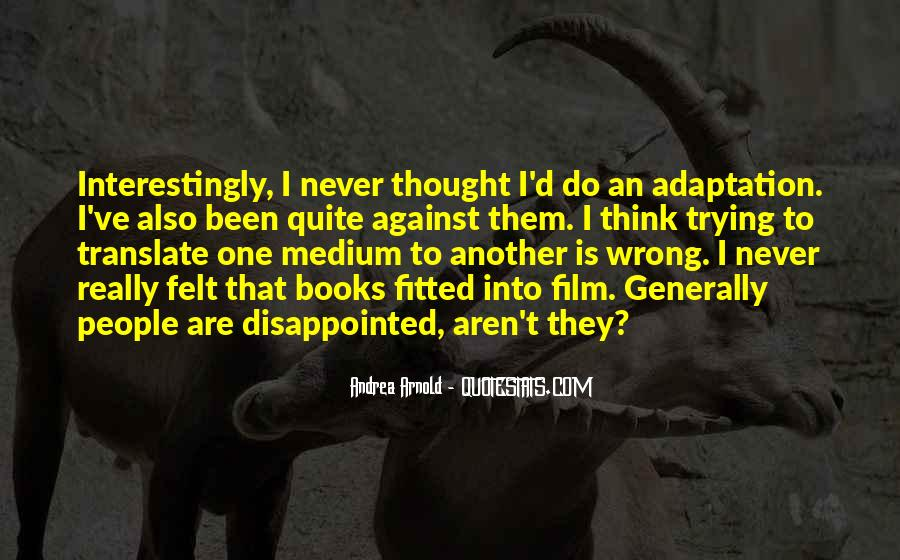 Quotes About Adaptation #188292