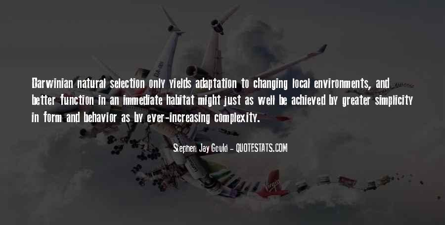 Quotes About Adaptation #223231