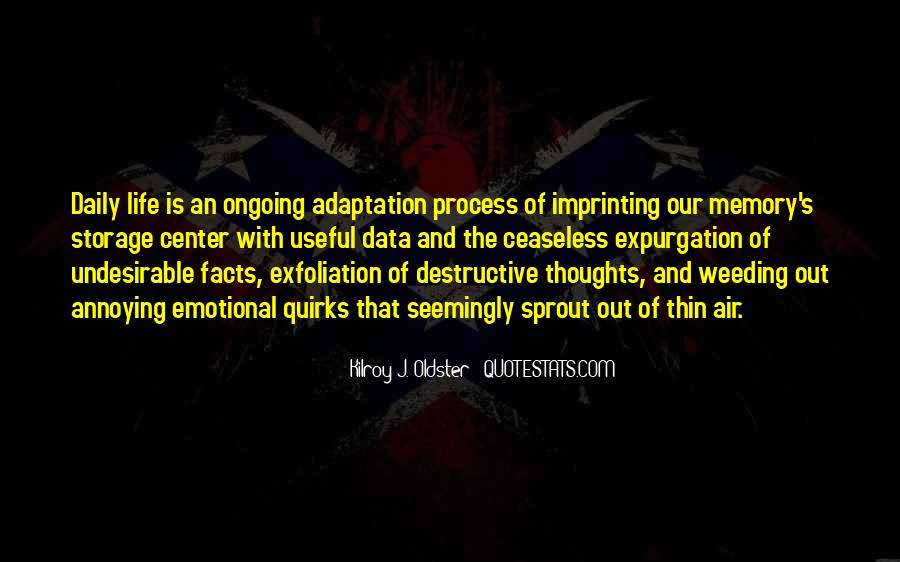 Quotes About Adaptation #305864