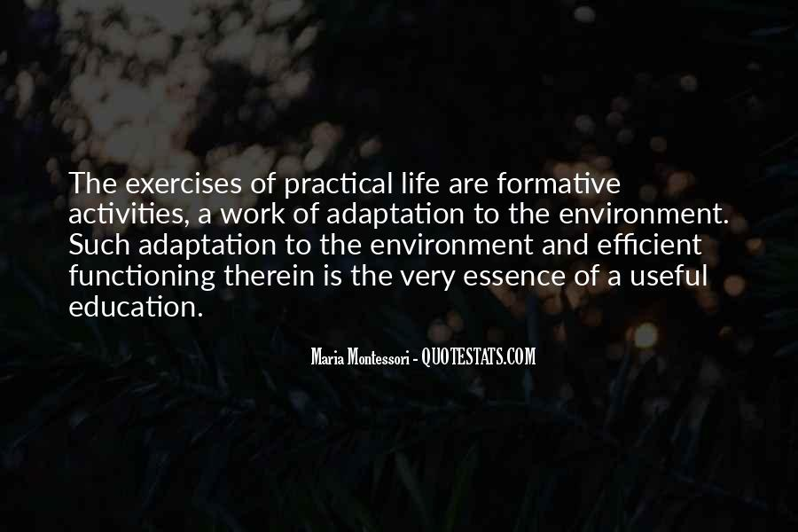 Quotes About Adaptation #382605