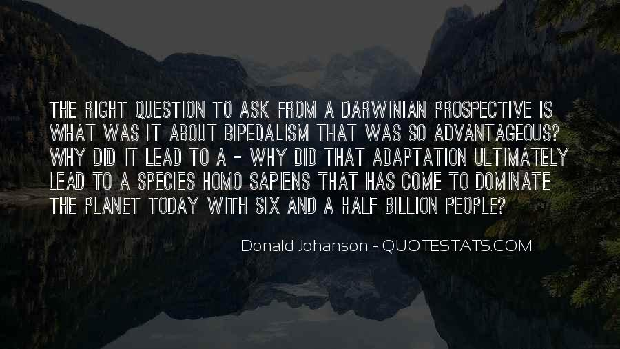 Quotes About Adaptation #413267