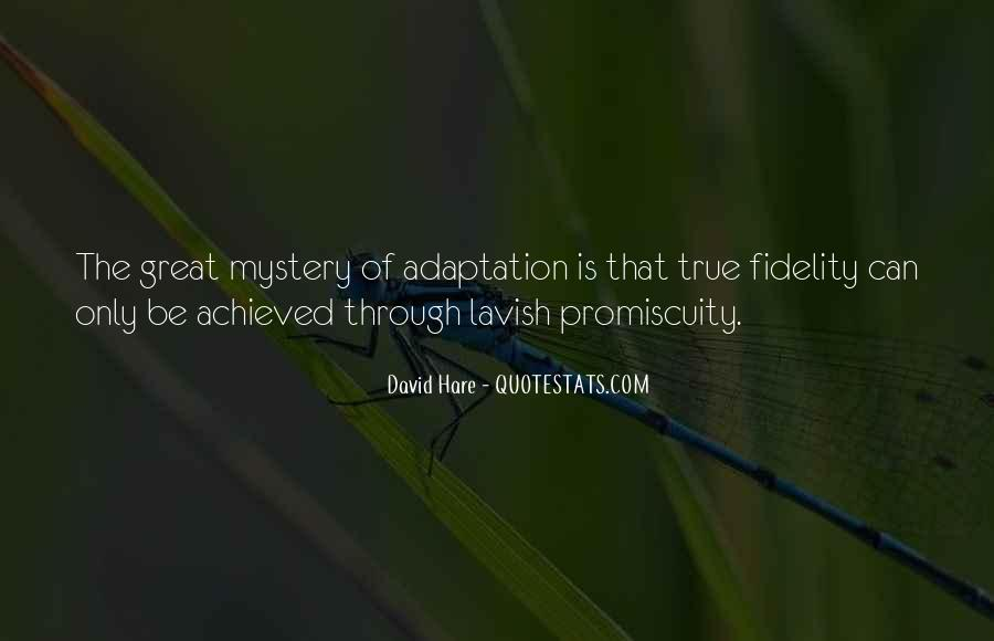 Quotes About Adaptation #464481