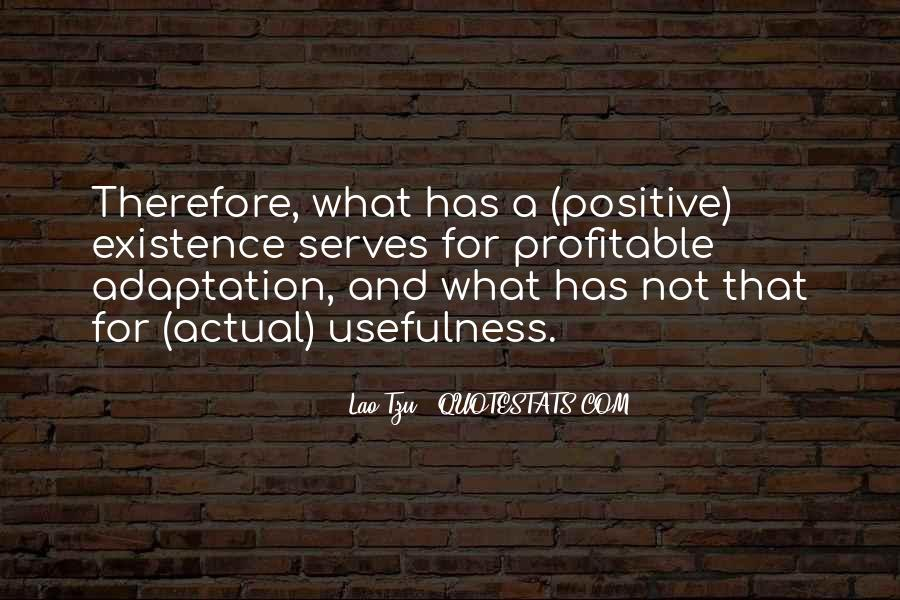 Quotes About Adaptation #55107