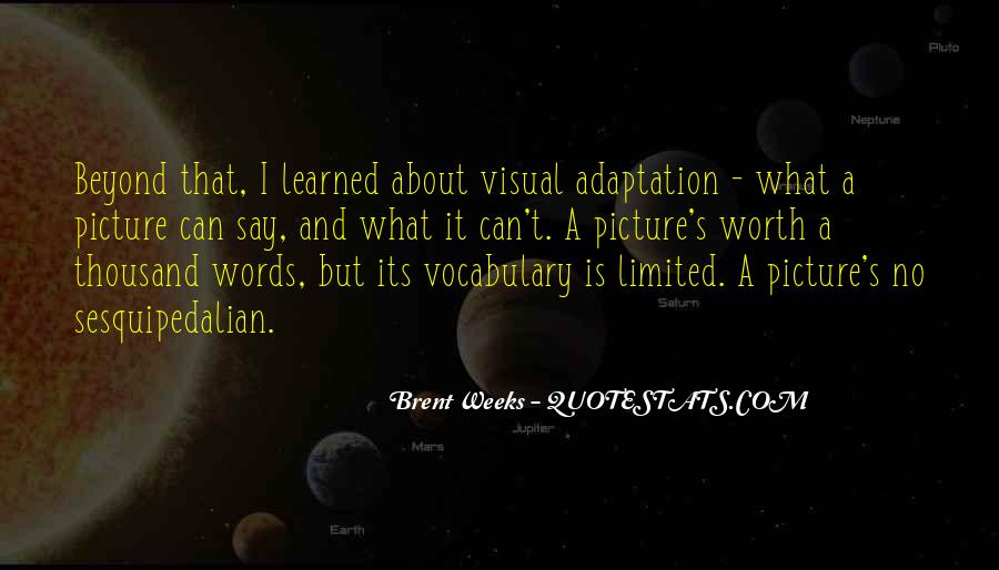 Quotes About Adaptation #79226