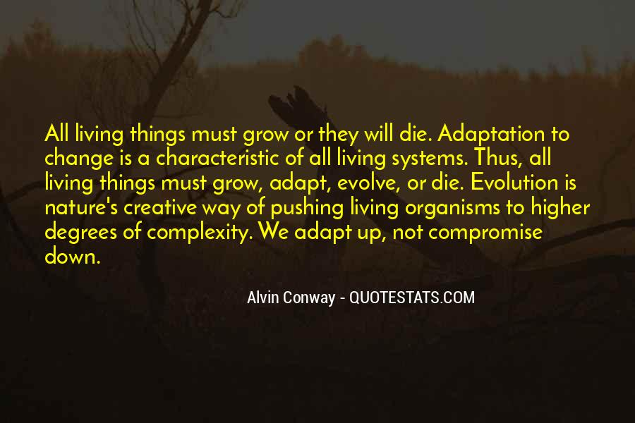 Quotes About Adaptation #92624