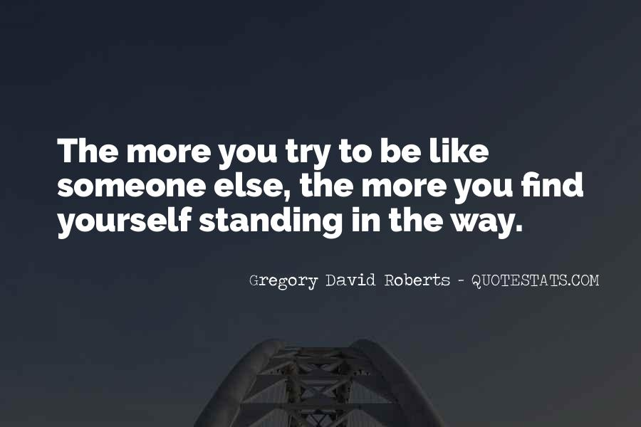 Quotes About Standing Up For Someone Else #25030