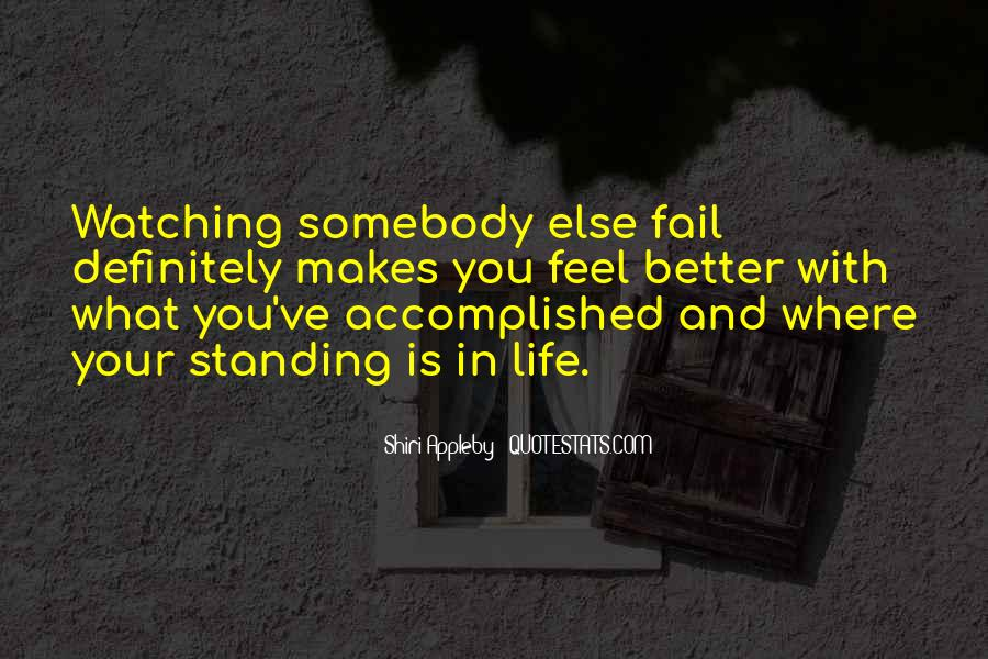 Quotes About Standing Up For Someone Else #411227