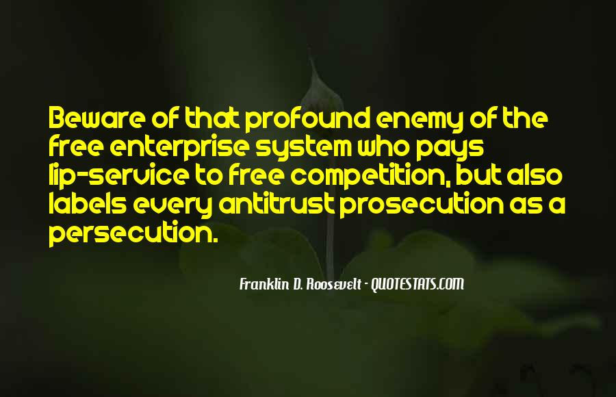Quotes About Prosecution #1014402
