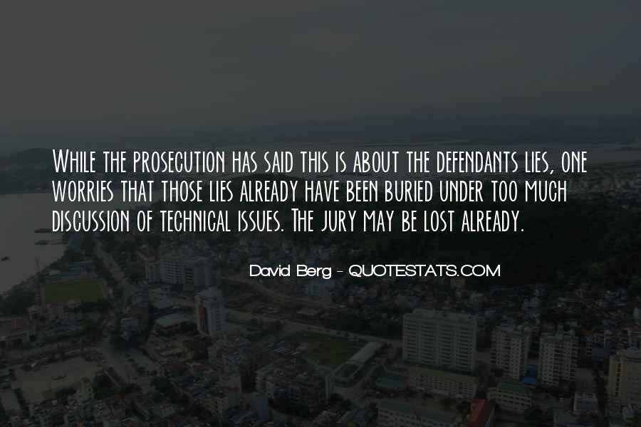 Quotes About Prosecution #110999