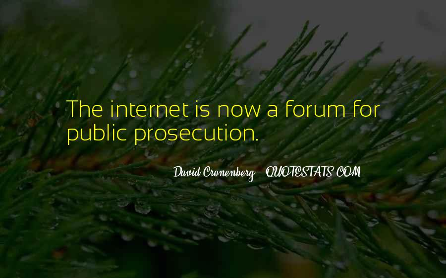 Quotes About Prosecution #14442