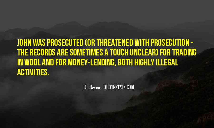 Quotes About Prosecution #1613976