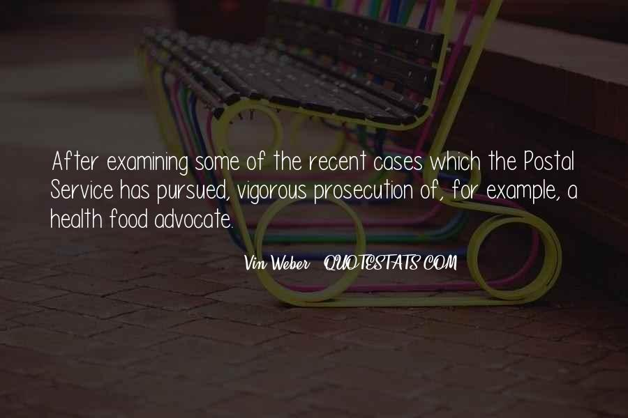 Quotes About Prosecution #1824477