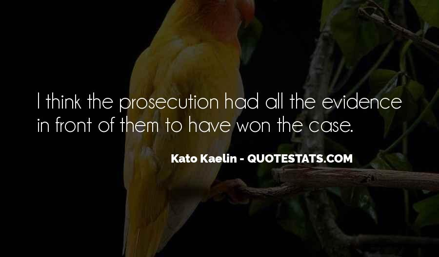 Quotes About Prosecution #289125
