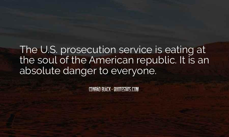 Quotes About Prosecution #37439